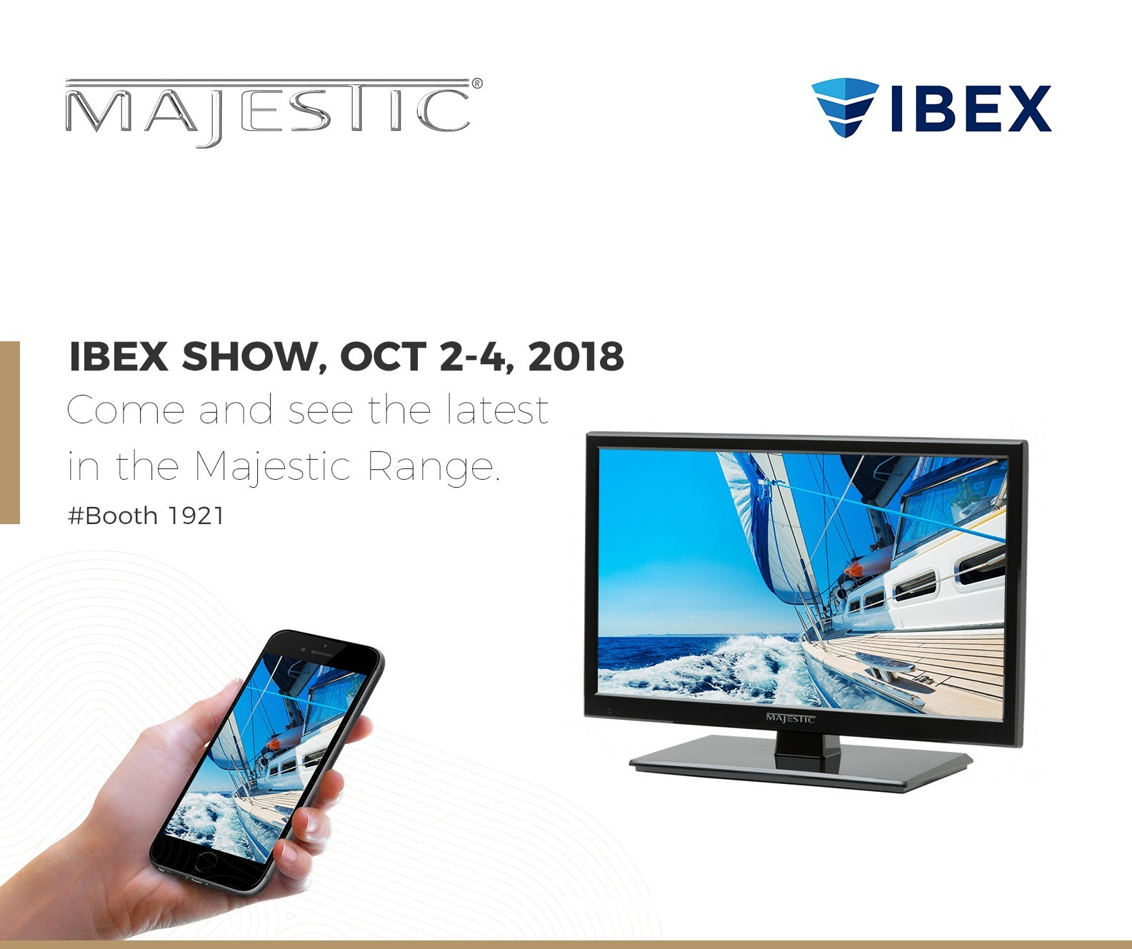 Majestic Global USA IBEX 2018 – Booth 1921